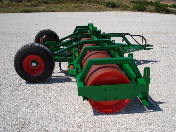 rulos agrícolas plegables