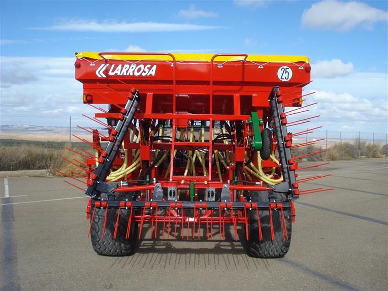 Sembradora plegables mecánica para Larrosa