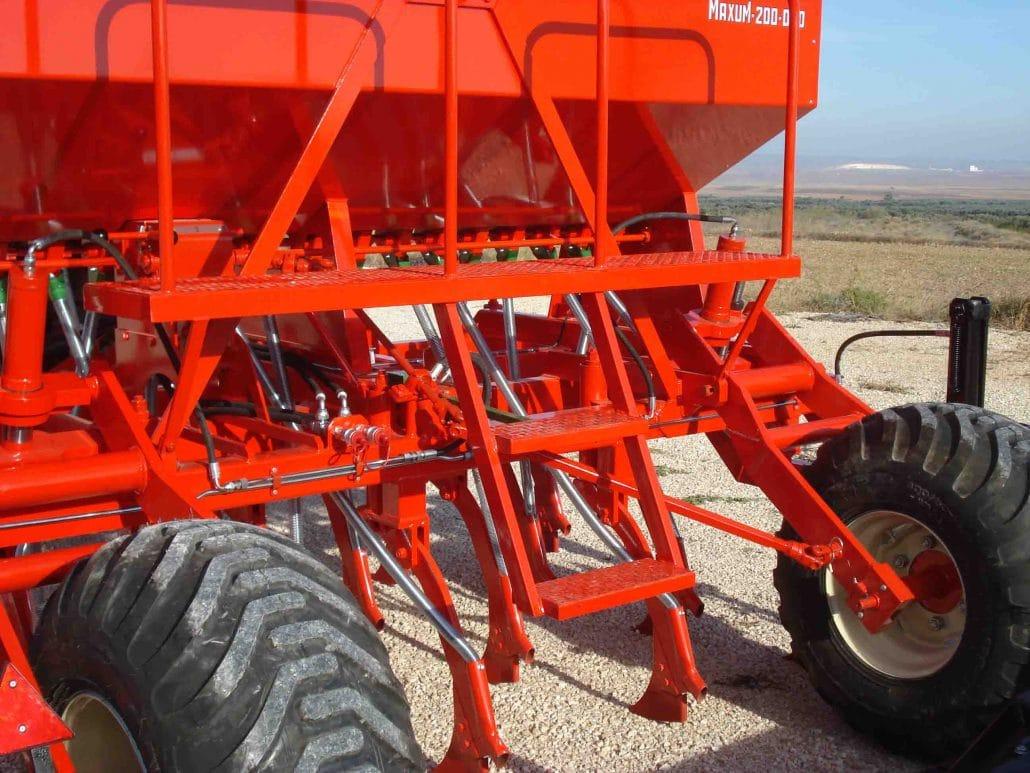 Sembradora con reja arrastrada agrícola
