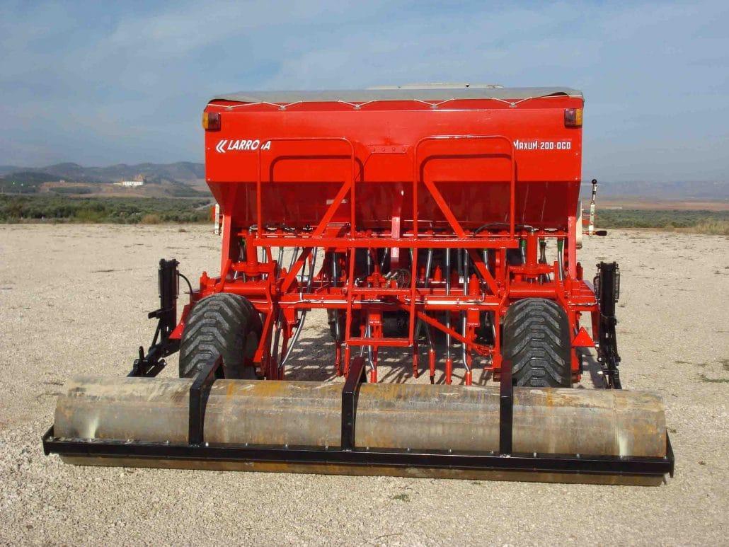 máquinas agrícolas de reja para siembra directa