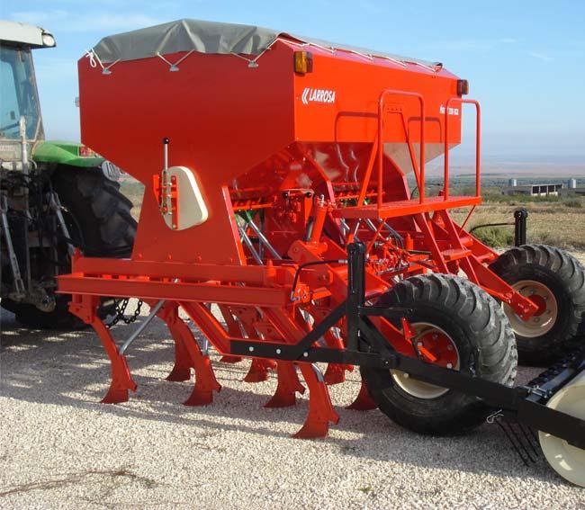Sembradora agrícola directa telescópica