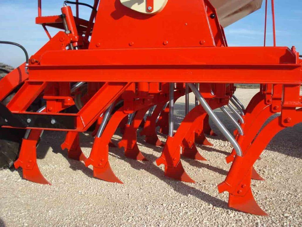 Sembradora telescópica agrícola