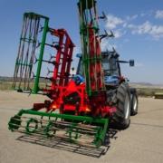 Lastrar el tractor