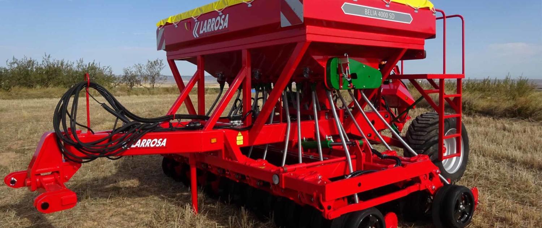 Sembradora mecánica de siembra directa de discos de 4 metros de ancho